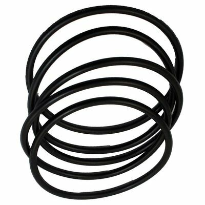 5 pieces 100 mm outer diameter 5 mm thick rubber seal oil-filtered O-rings E4R5