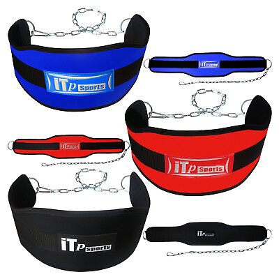 Weight Lifting Dipping Belt Gym Workout Dip Belt Body Building With Chain
