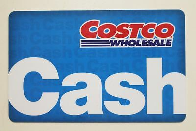 Costco Wholesale Cash Gift Card ~ $0.03 Balance