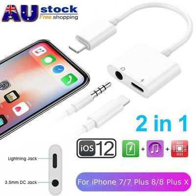 Lightning to 3.5mm AUX Headphone Audio Jack Adapter Cable iPhone7/8/X/XS/Max/XR