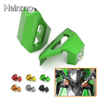 Front Brake Clutch Line Hose Holder Clamp Cable Clip For Kawasaki Z1000 Z 1000