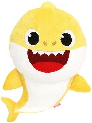 Yellow Baby Shark Official English Singing Plush WowWee USA FAST Ship AUTHENTIC