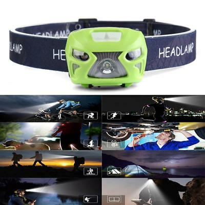 LED Headlamp Headlight USB Rechargeable 12000LM Sensor Head Torch Light New