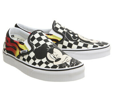 79a2a5f215 VANS DISNEY ERA Mickey and Friends Authentic Women Size 7 Excellent ...