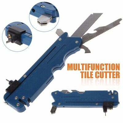20-in-1 Multifunction Foldable Glass&Tile Cutter Sharp Knife Blade Cutting Tools