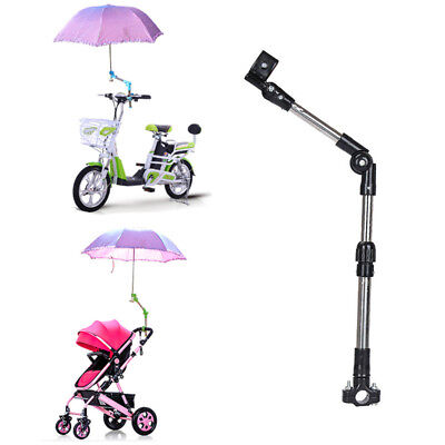 Adjustable Foldable Umbrella Stand Holder For Wheelchair Bicycle Baby Stroller