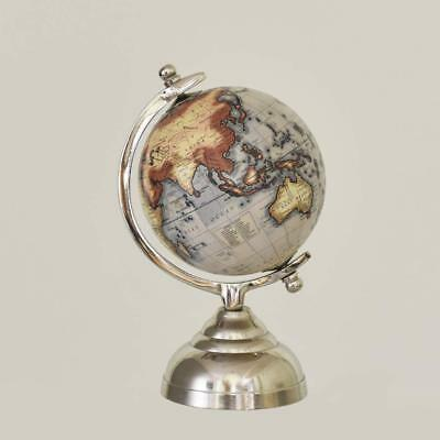 Pastel Country Elle Ultramarine Globe 5 inch World Globe, Office Table Globe