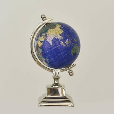Pastel Country Nautical Sphere Globe World Globe Home Office Desk - 5 Inch Dia'