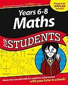 New Years 6-8 Maths for Students Dummies Education    Series By Consumer Dummies