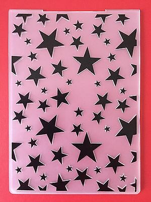 REDUCED• MULTI STARS EMBOSSING FOLDER For Cuttlebug Or Sizzix