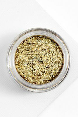 COLOURPOP | Glitterally Obsessed Body Hair Glitter OUTSIDE THE LINES Gold Colour