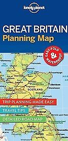New Lonely Planet Great Britain Planning Map By Lonely Planet