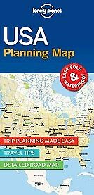 New Lonely Planet USA Planning Map By Lonely Planet