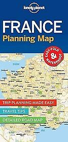 New Lonely Planet France Planning Map By Lonely Planet