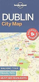 New Lonely Planet Dublin City Map By Lonely Planet, Lonely Planet
