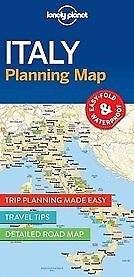 New Lonely Planet Italy Planning Map By Lonely Planet