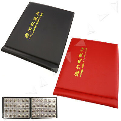 240 Coins Collection Holders Storage Money Penny Pockets Album Book Folders