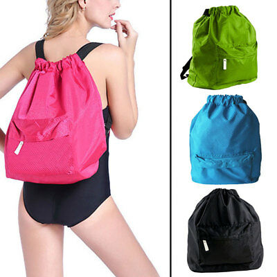 Waterproof Drawstring Bag Sports Backpack for Swimming,Gym,Beach,Camping,Travel