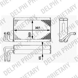Delphi TSP0585020 Air Conditioning Component