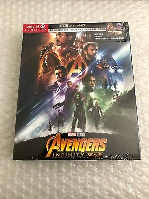 Avengers: Infinity War Target Exclusive Digibook (not Steelbook)