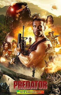 Predator:Movie Poster#4:Laminated:A4:!!!!Buy 2 Get 3 FREE!!!!!!!