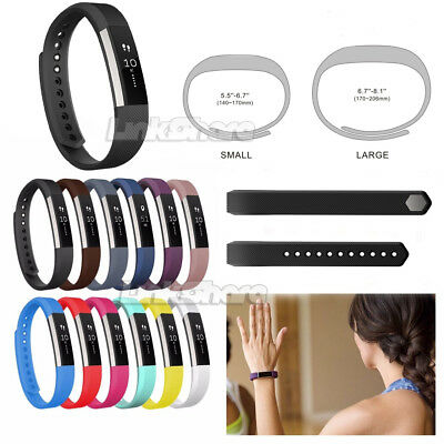 Premium L/S Size Replacement Wristband Watch Band Strap For Fitbit Alta Tracker