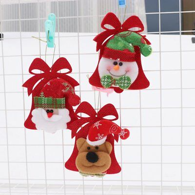 Christmas Pendent Decorations Pub Door Hanging Ornaments Door Handle Ornaments S