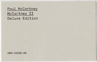 PAUL McCARTNEY McCartney II 2 DELUXE BOX 2011 Digital Hi-Res Unlimited Download