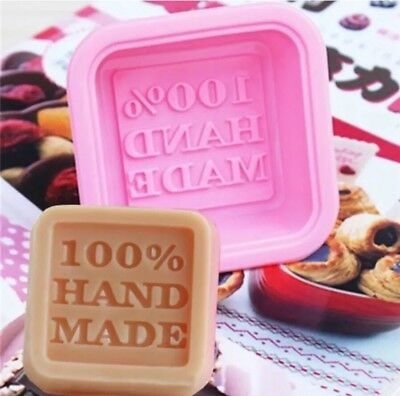 100% Hand Made Silicone Cake Plaster Icing Wax Mould Crafts DIY Baking