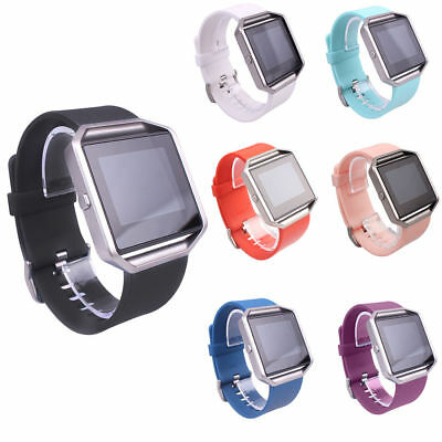 Replacement Silicone Sport Band Strap Wristband Bracelet For Fitbit Blaze Watch