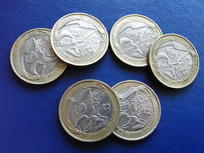 Rare £2 coin Manchester XVII Commonwealth Games 2002
