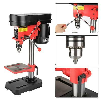 350W 5-Speed Bench Drill Press Workshop Mounted Drilling Heavy Duty 1.5-13mm UK
