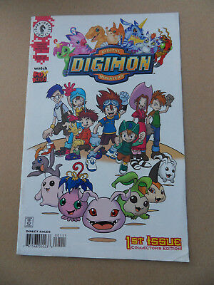 Digimon Digital Monsters 1 . Dark Horse . 2000  FN +