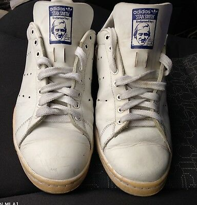 best cheap 6a98e 2eca1 Vintage adidas stan smith shoes size uk11 1 2 us 12 eu46 2 3