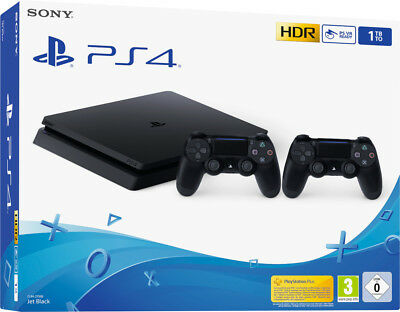 Sony Playstation 4 PS4 500 GB Console F Chassis+ 2 Dualshock 4 v2