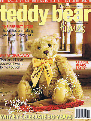 Teddy Bear Times magazine. Issue 205. June - July  2013   Mint condition.