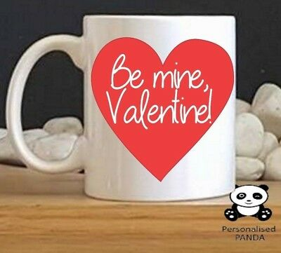 Personalised Mug for Valentines day Romantic cup. Gift for her him. Love you J30