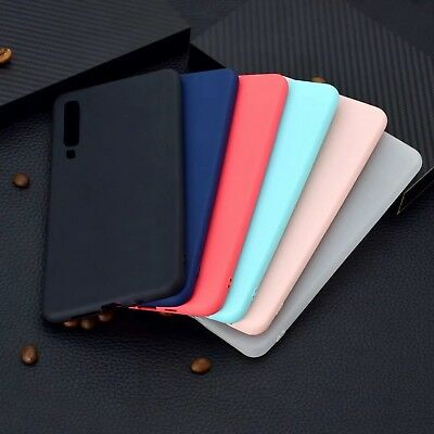 For Samsung Galaxy J4 J6 Plus A6 A7 2018 Silicone Rubber Frosted TPU Case Cover