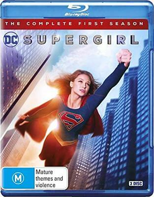 Supergirl - The Complete First Season - Blu-ray - Region B - NEW
