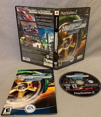 Need For Speed Under Ground 2 PS2 - Complete Near Mint PlayStation 2 Racing Game