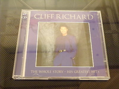 Cliff Richard : The Whole Story Greatest Hits ...2 Disc Cd Album 2000