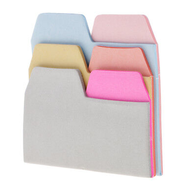 90x Neon Page Markers Colored Index Label Index Tabs Flag for Office Workers
