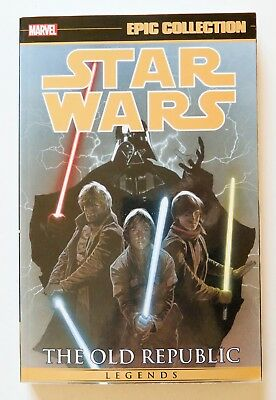 Star Wars Old Republic Vol. 2 Marvel Epic Collection Graphic Novel Comic Book