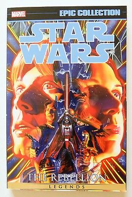 Star Wars Rebellion Vol. 1 Marvel Epic Collection Graphic Novel Comic Book