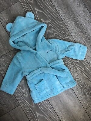Oliver - Personalised Dressing Gown - 6-12 months
