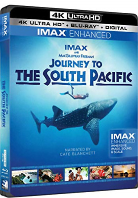 Journey To The South Pacific (4K Uhd/blu-Ray/digital) (2 Disc) Dvd Neuf