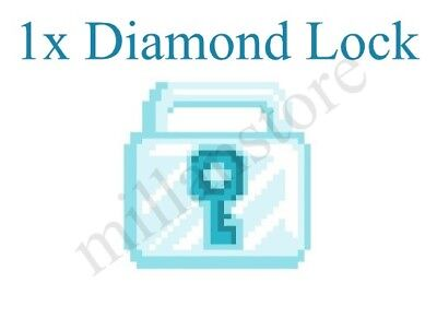 [Growtopia - Best Deal!] Diamond Lock x1! Guaranteed Delivery with BONUS!