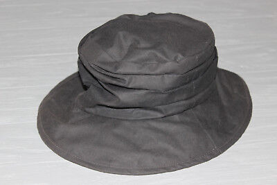 Mens Barbour Waxed Panama Hat Size Small