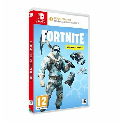 Fortnite Deep Freeze DLC Bundle Nintendo Switch - New & sealed