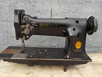 Industrial Sewing Machine Singer 112W140 two needle -Leather
